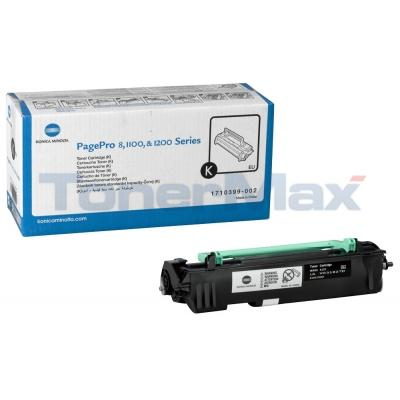 MINOLTA PAGEPRO 8 1100 1200 TONER BLACK 3K